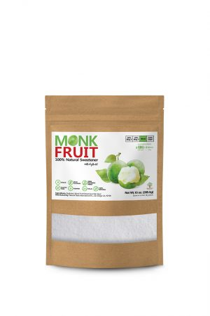 Monk Fruit Natural Sweetener 5 to 1 – 10 oz F