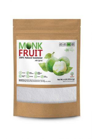Monk Fruit Natural Sweetener 5 to 1 – 4 lb F